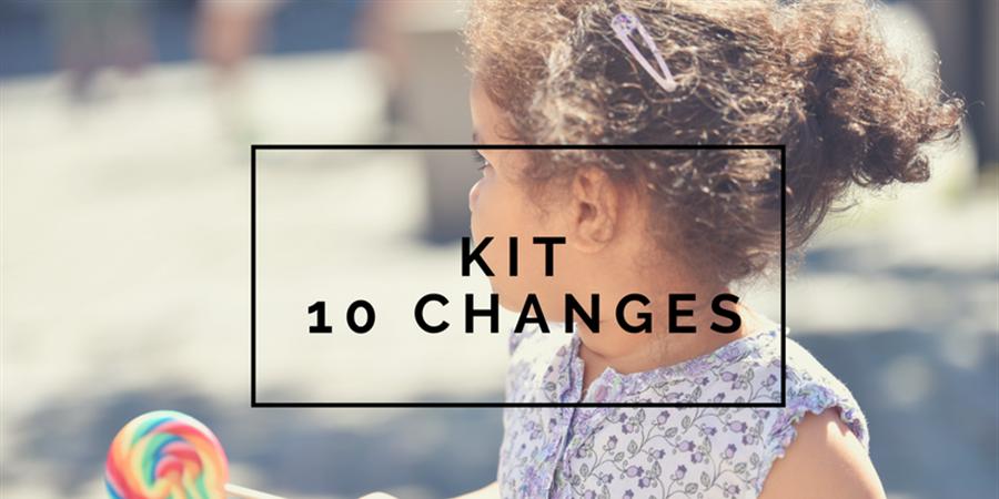 Kit 10 changes lavables - Les alternatives de Lilly