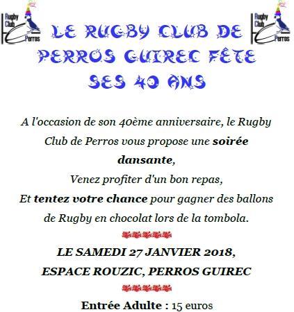 LA NUIT DU RCP - Rugby Club Perrosien