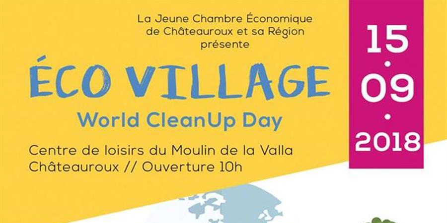 WORLD CLEANUP DAY 2018 -  GRAND DEOLS - Jeune Chambre économique de Châteauroux et sa région