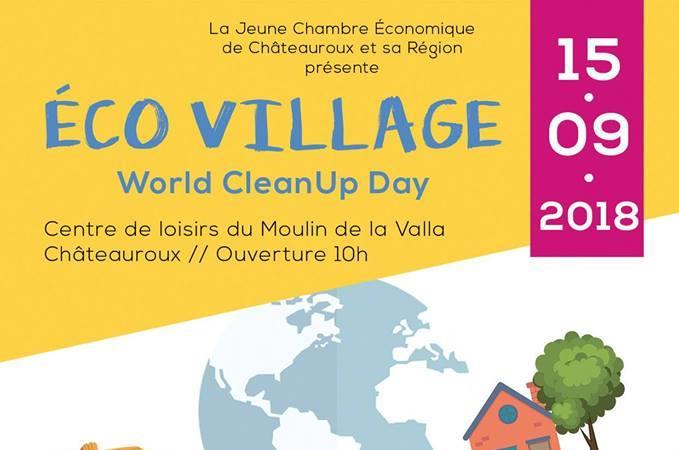 WORLD CLEANUP DAY 2018 - Quartier VAUGIRARD - Jeune Chambre économique de Châteauroux et sa région