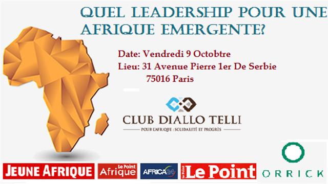 Quel Leadership pour une Afrique Emergente? - Club Diallo Telli