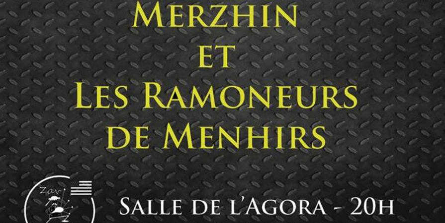 Concerts Merzhin Les ramoneurs de menhirs - ZAV-BREIZ