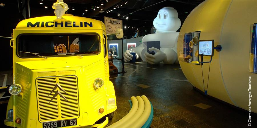 Invitation - Visite de l'Aventure Michelin - Patrimoine Aurhalpin