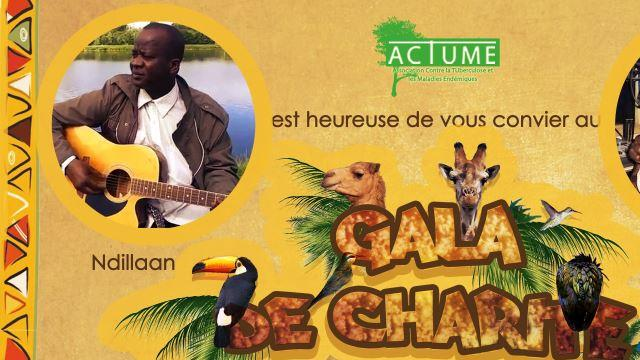 Gala de charité animé par Demba Ndiaye Ndillaan et Abou Djouba DEH ! - Association Contre la Tuberculose et les Maladies Endémiques (ACTUME)