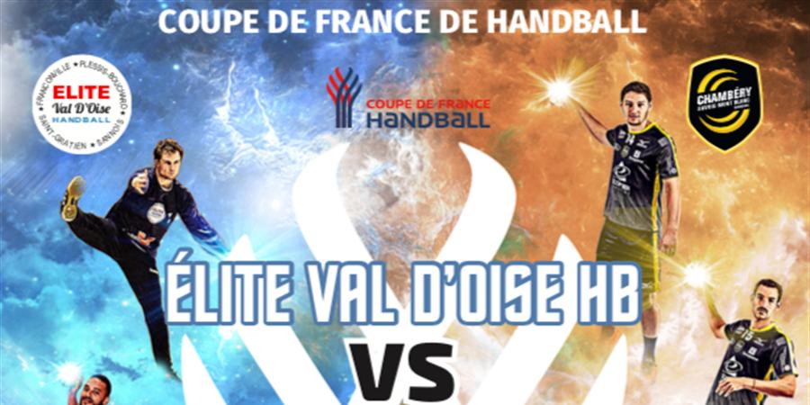 Coupe de France - Elite Val d'Oise (N1) vs Chambéry Savoie HB (Lidl Starligue) - Saint Gratien Sannois Handball Club