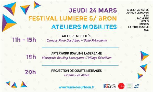 Festival Lumière Sur Bron - Afterwork Bowling et Lasergame - Esprits Critiques