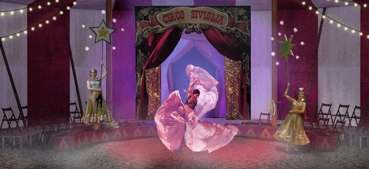 Une Carmen, étoile du cirque 19 mai - APEC RAMEAU PARIS