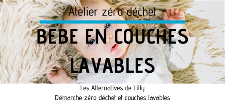 20/02 - LA REOLE / SOLID'Avenir - Bébé en couches lavables - Les alternatives de Lilly