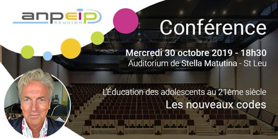 Conférence présentée par le Docteur Olivier Révol - ANPEIP REUNION