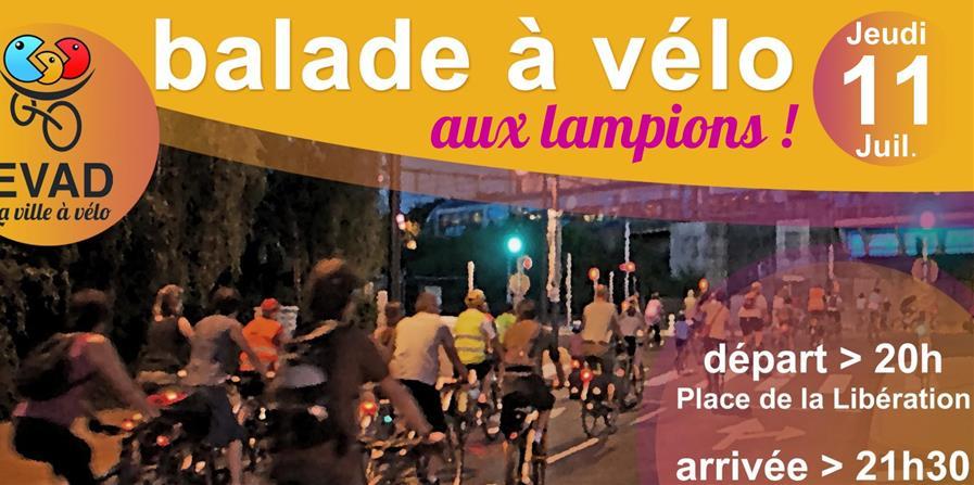 Balade à vélo - jeudi 11 juillet 2019 - EVAD