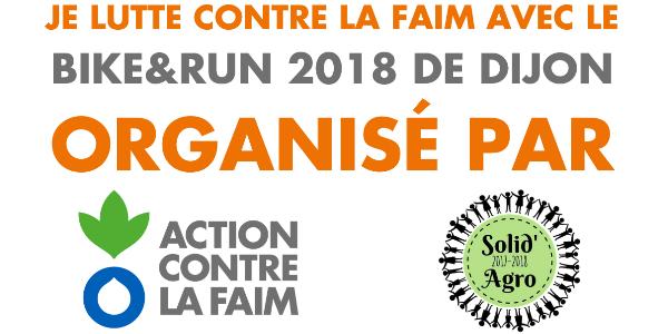 Bike&Run 2018 - Délégation Action contre la Faim Côte d'Or