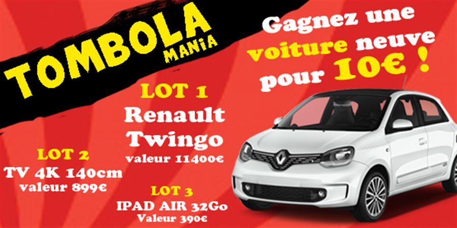 Tombola Mania - Association Even'Mania