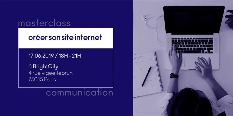 Masterclass communication : créer son site internet - Creature