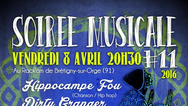 Soirée musicale # 11 au Rack'am - DoReMi Game and Cie