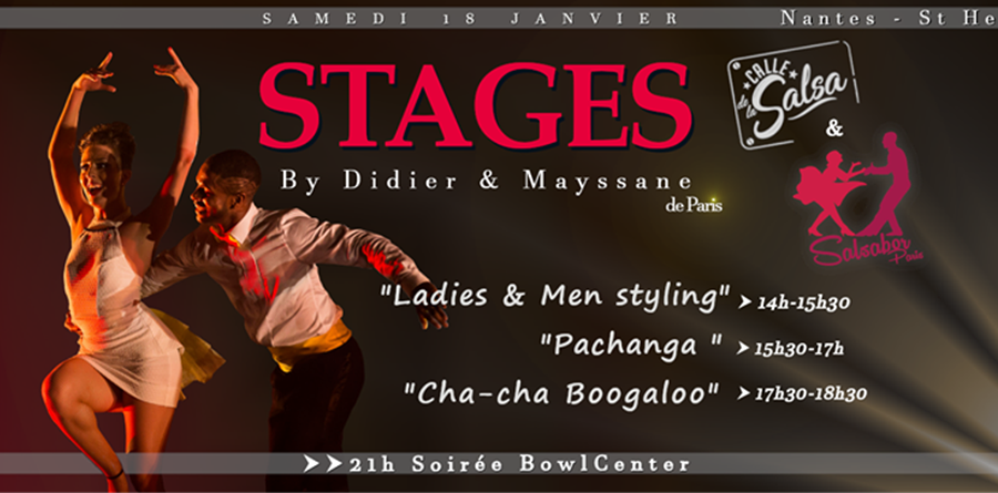 STAGES LADY & MAN STYLING - PACHANGA - BOOGALOO - Calle de la salsa