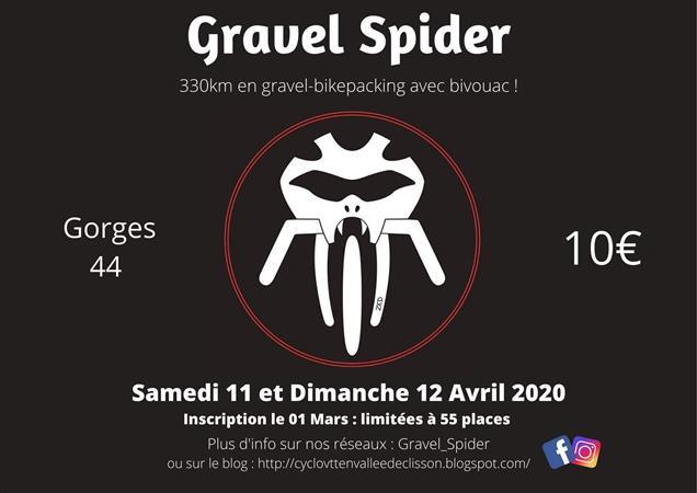 GRAVEL SPIDER - Cyclo VTT en Vallée de Clisson