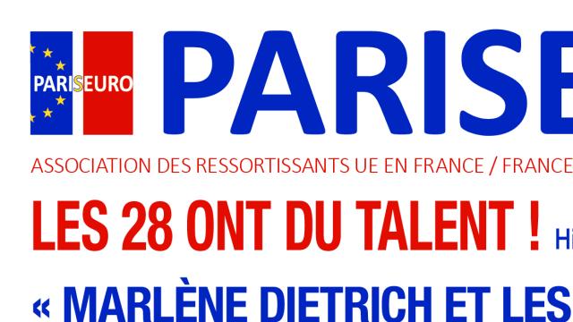 « Marlène Dietrich et les Dames de chez Maxim's »   - PARISEURO