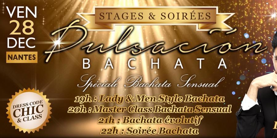 Stages & Soirée Pulsacion Bachata 26 avec JC EMELINE DJ RASH PARIS - Pulsacion Bachata