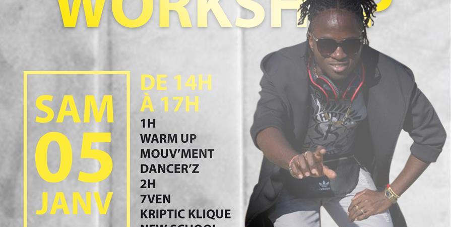 Workshop 7ven Kriptic klique - Mouv'Ment Dancer'Z