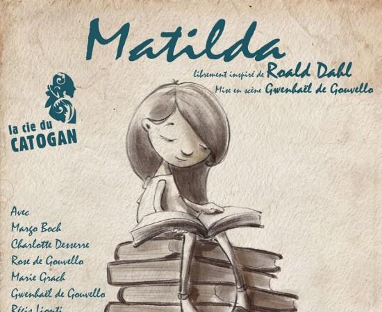 Matilda - le 18/08/18 - Festival de théâtre des Parenthèses de Pornic - La Compagnie du Catogan