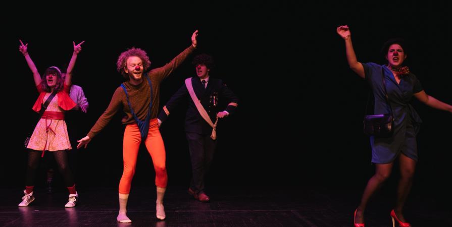 9 octobre à La Rochelle  - Sur la piste du clown - L'art du Rire -  - Compagnie Le Roi De Sable