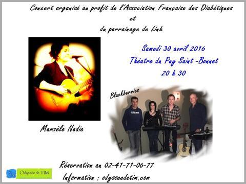 Concert Mamzèle Nadie et Blackberries - Odyssée de Tim