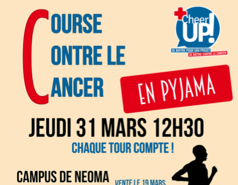 COURSE CONTRE LE CANCER 2016 - Cheer Up! Rouen