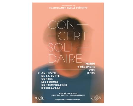 Concert Solidaire - Association RUELLE
