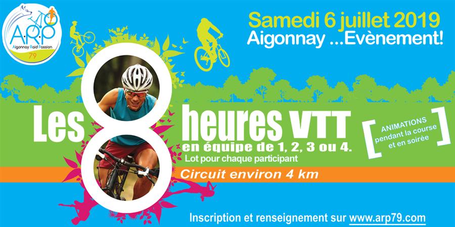 LES 8 HEURES VTT D'AIGONNAY - AIGONNAY RAID PASSION 79
