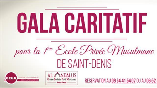 Gala Caritatif Al-Andalus 2016 - Association Génération Avenir