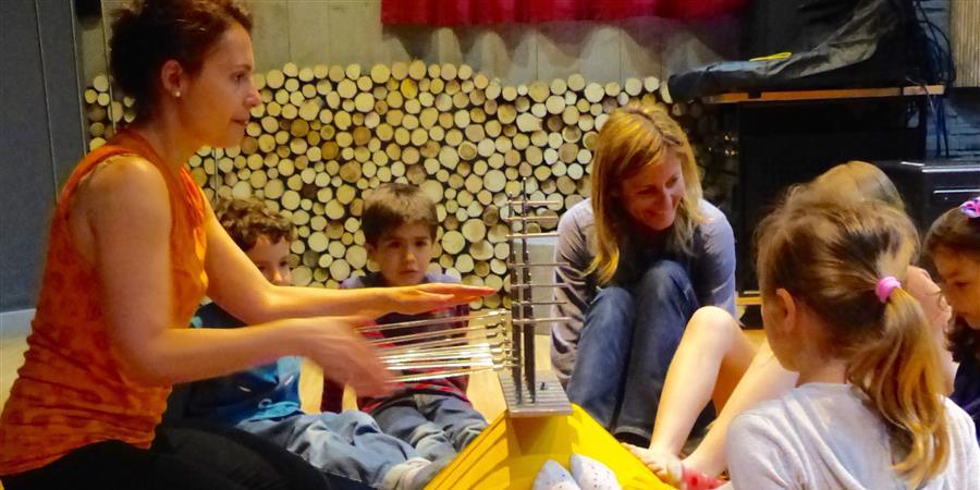 """Atelier Instruments Baschet musique"""" samedi 13 janvier à 10H30 - Les petites écoles pour tous"""