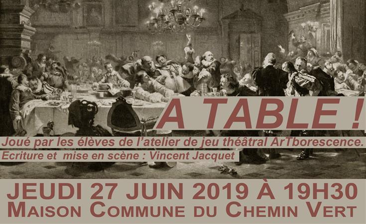 A TABLE - ArTborescence