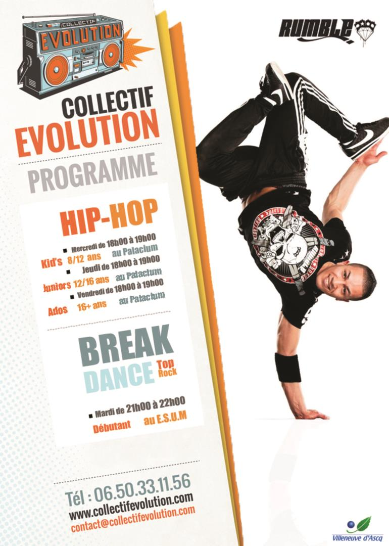 BREAK DANCE - Collectif Evolution