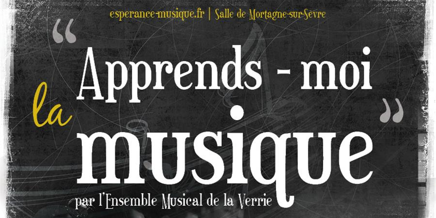 Apprends-moi la musique - Espérance Musique La Verrie