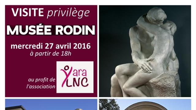 Visite privilège Musée Rodin - Yara LNC