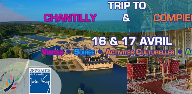 Trip to Chantilly + Compiègne by ESN Amiens - AEIA- ESN Amiens