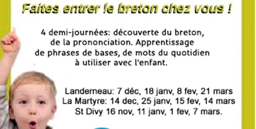 Initiation au breton / Tañva d'ar brezhoneg  - Ti ar Vro Landerne Daoulaz