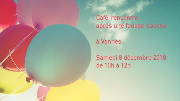 Vannes - 8 décembre 2018 - Café-rencontre après une fausse couche - Agapa