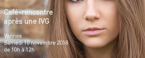 Vannes - samedi 10 novembre - Café-rencontre IVG - Agapa