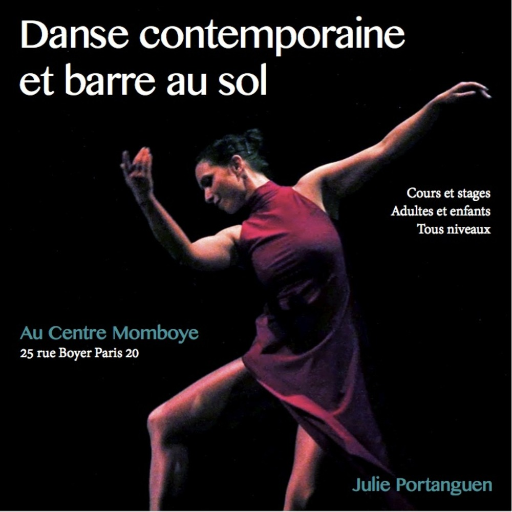 Danse contemporaine adultes - Julie Portanguen et l'association L'éveil et l'envol
