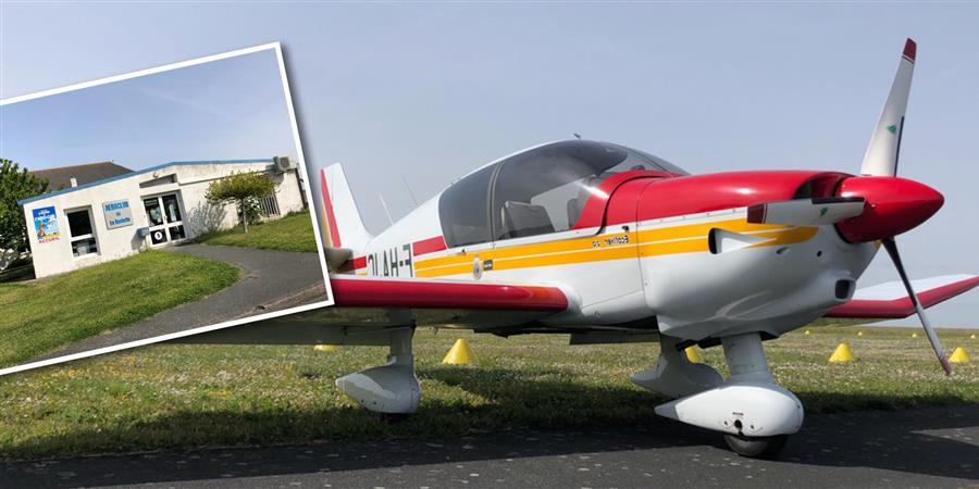 Balade en avion au dessus de La Rochelle et l'île de Ré - Club Entreprise d'Aytré