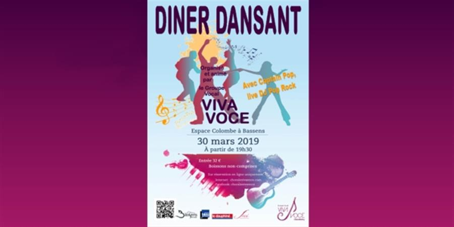 Diner spectacle dansant de Viva Voce - Groupe vocal VIVA VOCE