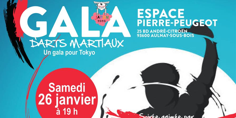 Gala d'arts martiaux - Association sportive Judo Club Villepinte