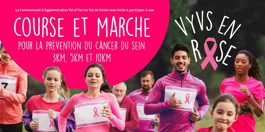 VYVS EN ROSE - Ligue contre le Cancer - comité Essonne