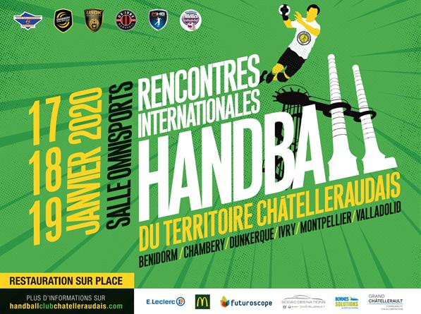 Rencontres Internationales de Handball - Hand Ball club chatelleraudais
