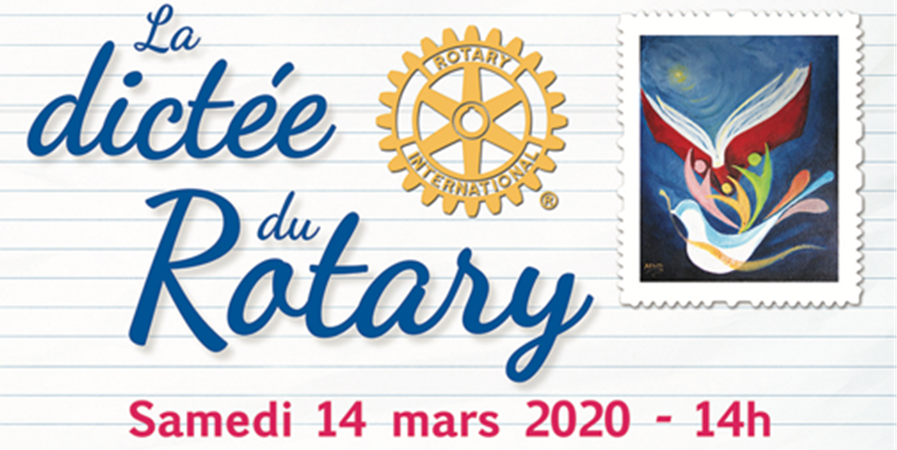 La Dictée du Rotary - Rotary Club Toulouse Lauragais