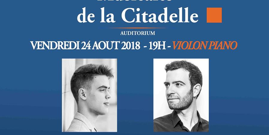 Les Soirées Musicales de la Citadelle - 24 août 2018 - PianoNovo