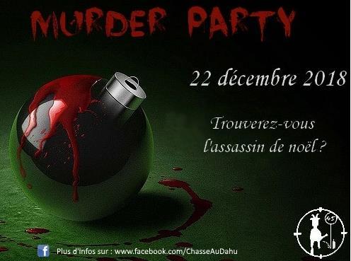 Murder Party de Noël - Le Dahu du Gâtinais