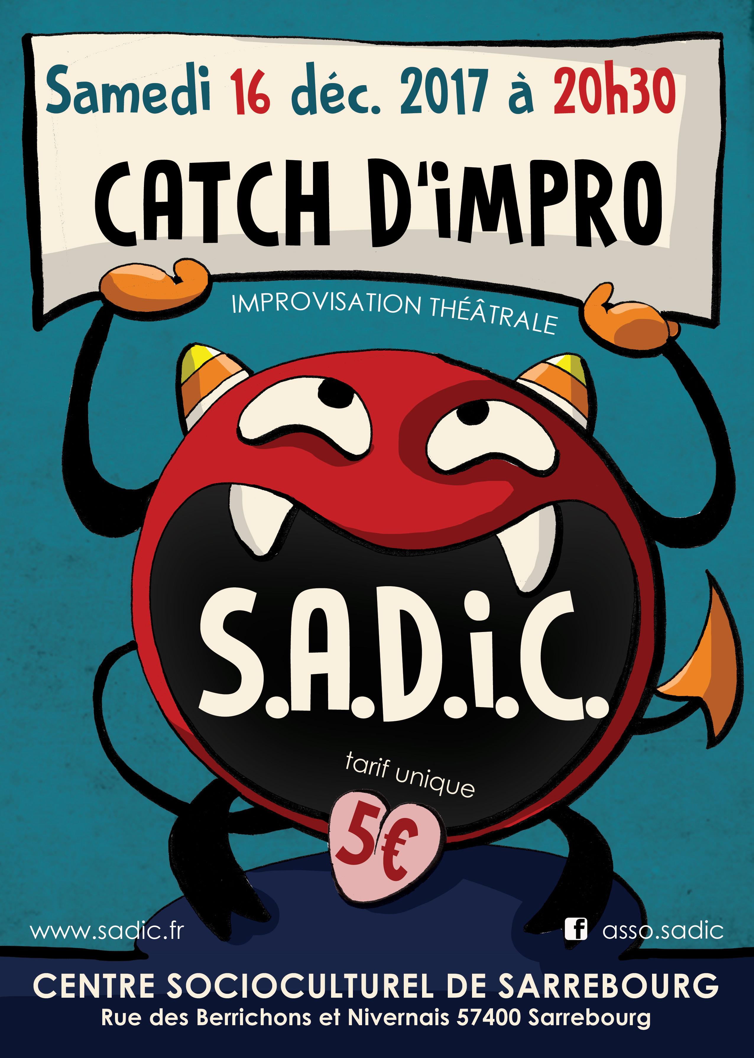 Catch d'impro - SADIC