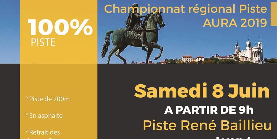 Championnat Régional Piste AURA 2019 - Lyon Roller Métropole
